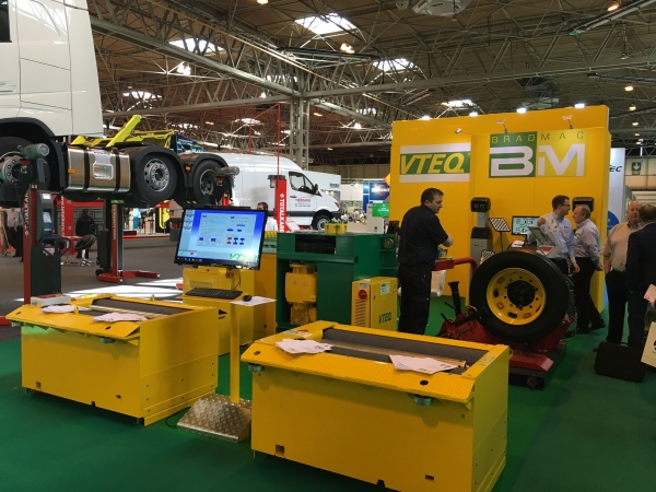 VTEQ en Commercial Vehicle Show - Birmingham 2016