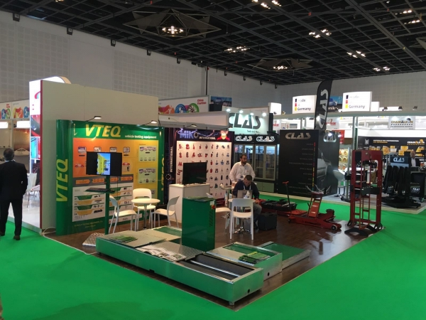 VTEQ at Automechanika Middle East - Dubai 2016
